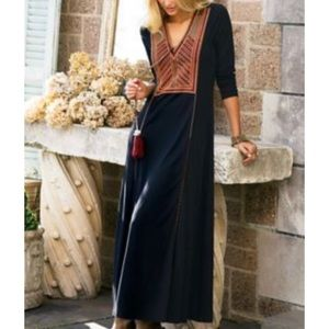 Soft Surroundings MODIFIED Andes maxi dress
